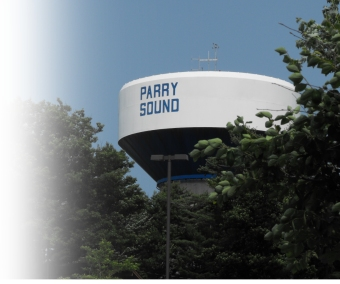 Parry Sound Ontario Water Tank